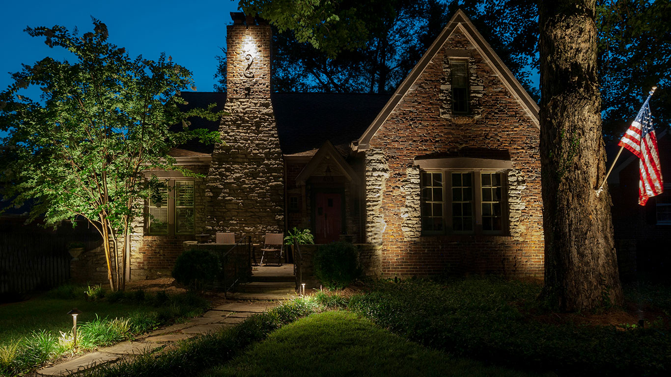 Why Up Lighting Is a Better Alternative to Recessed Soffit Lighting