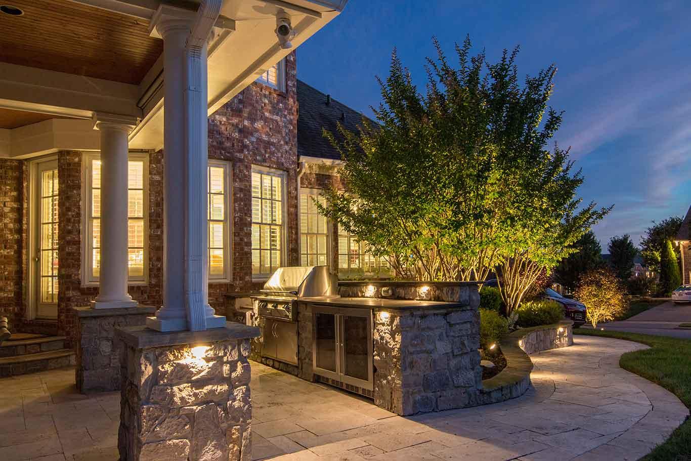 3 Ways To Light Outdoor Kitchens